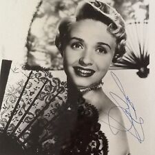 Jane Powell  SIGNED 8 x 10  Photo 50s Movie Star  MGM  Girl Next Door!