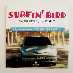 THE-TRASHMEN-THE-CRAMPS-SURFIN-039-BIRD-THEME-RENAULT-CD-Single
