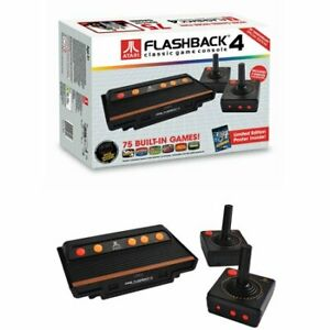 Pre Owned  Atari Flashback 4 Classic Game Console with 76 Built in Games