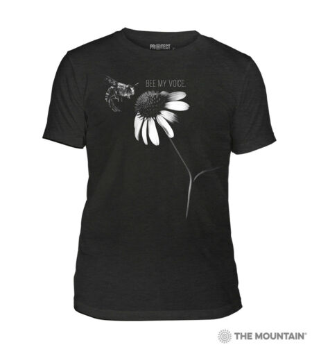 The Mountain 100/% Cotton Unisex Adult T-Shirt Bee my Voice NWT