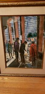 RUBI-ROTH-NAD-LISTED-ARTIST-WATERCOLOR-MASTERPIECE-SIGNED-LOWER-LEFT