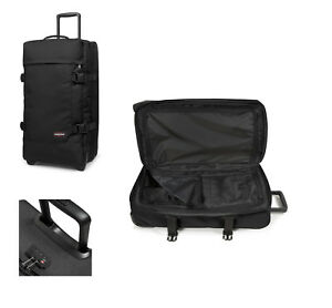 Eastpak-Tranverz-M-black-schwarz-78-l-TSA-Reise-Trolley-Koffer-Tasche-EK62L008