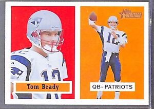 2002-Topps-Heritage-Red-Back-50-Tom-Brady-MINT-FROM-PACK
