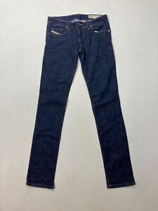 Diesel Grupee Super Slim Skinny Jeans-w29 l32-dunkelblau-super Zustand-Damen