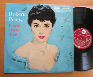 RB-16018-Roberta-Peters-Famous-Operatic-Arias-NEAR-MINT-1957-RCA-ED1-Vinyl-LP