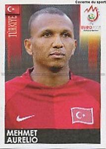 N°138 VIGNETTE PANINI MEHMET AURELIO TURKEY EURO 2008 STICKER