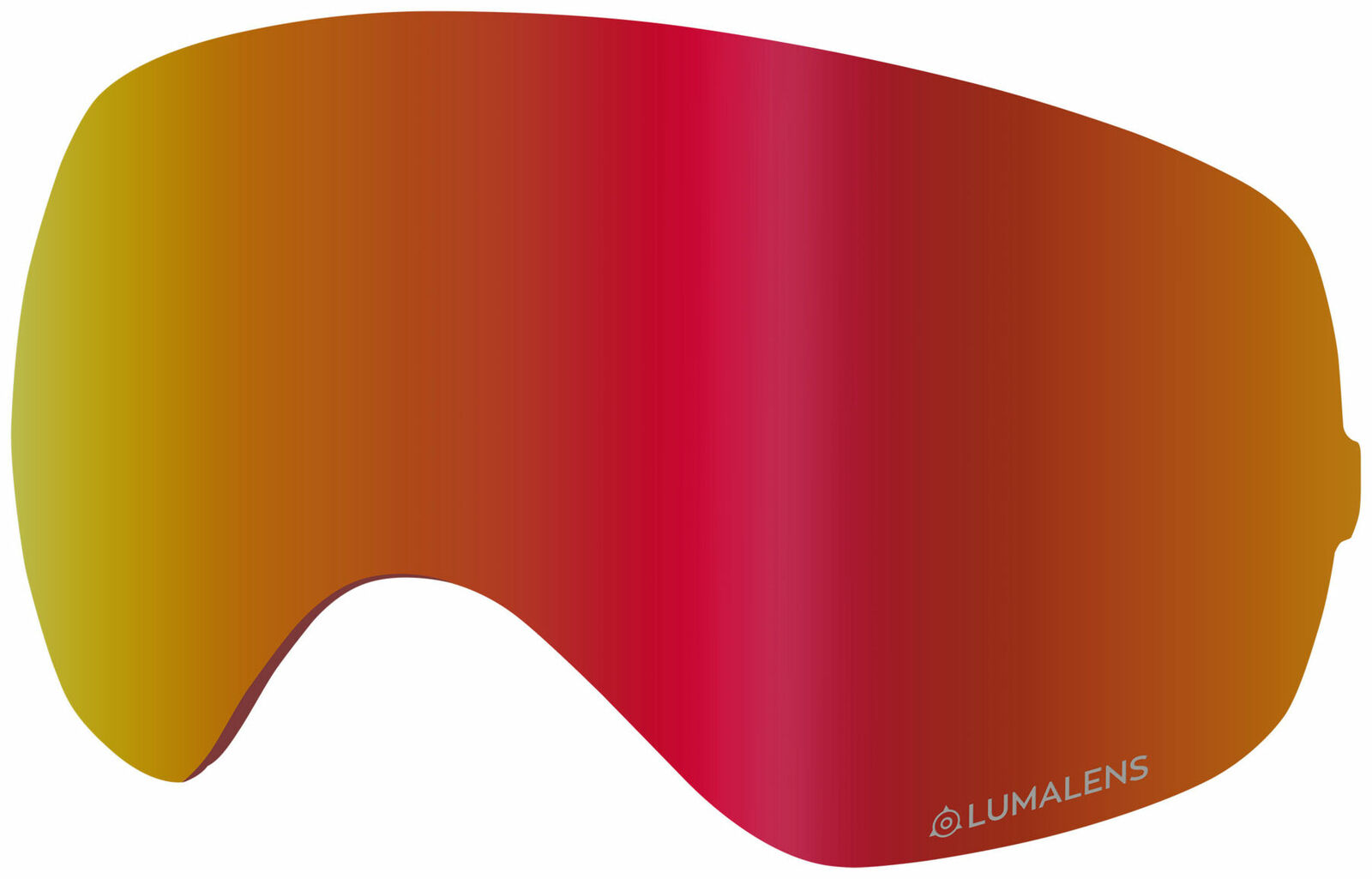 Dragon X2s Replacement Goggle Lens (Lumalens rot Ion)