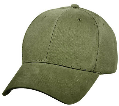 Baseball Hat Safety Bright Green Low Profile Cap Adjustable Rothco 3882