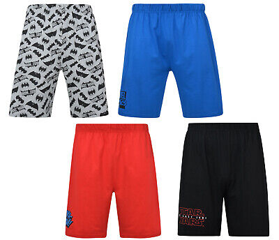 Mens Lounge Shorts Character EX UK Store Jersey PJ Shorts Lounge WEAR S-2XL New