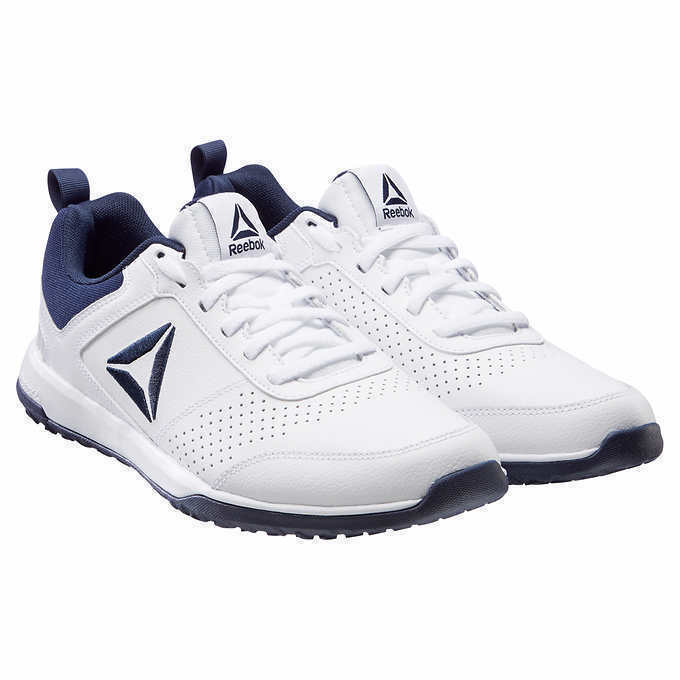 e1a71e8b92e5 Reebok Men s CXT TR Athletic Shoes Training Sneakers White Leather Leather  Leather Retail  80 f156cf