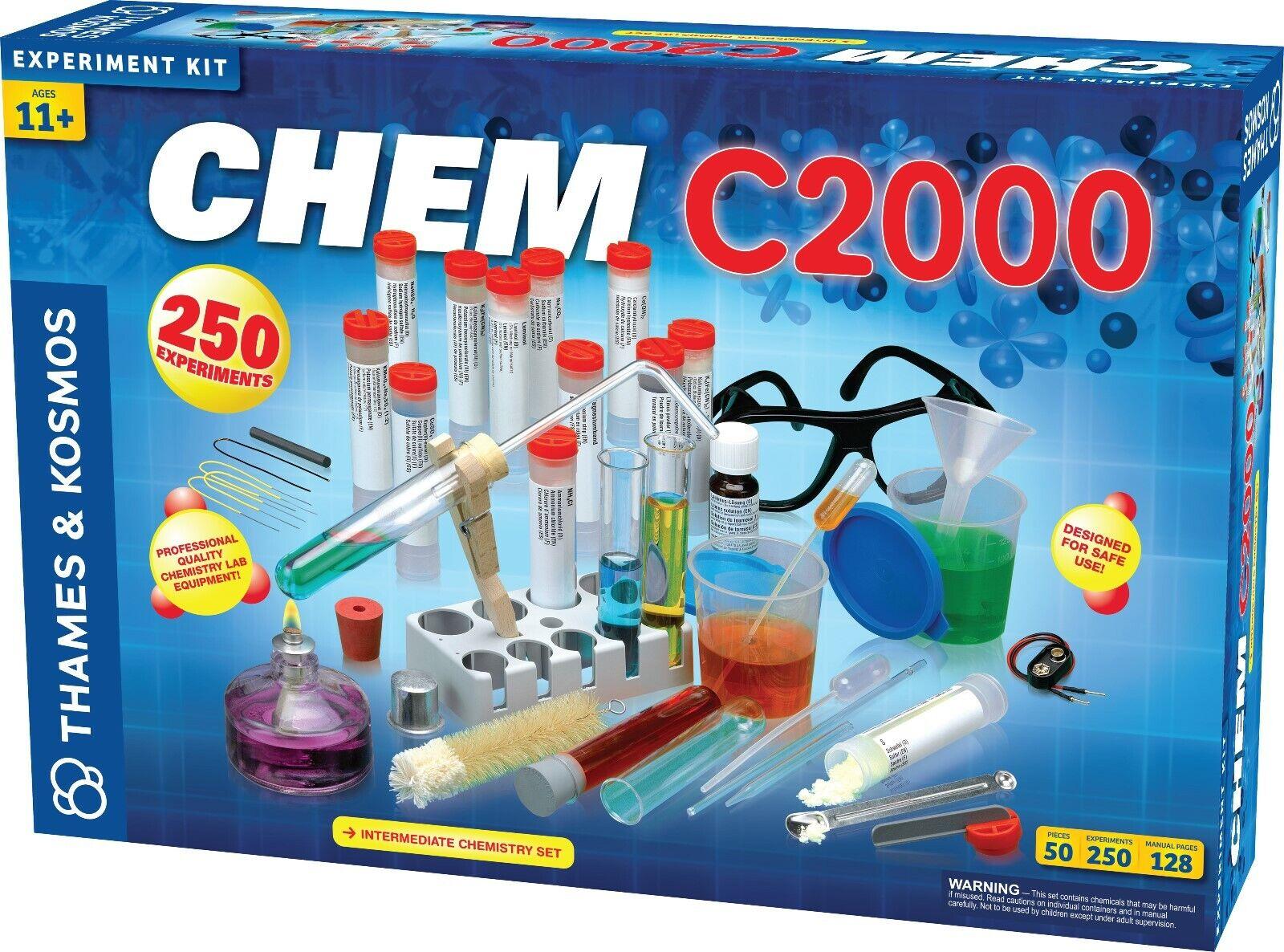 Chem C000 Chemistry Experimänt Science Kit THames & Kosmos Ny i ask 640125