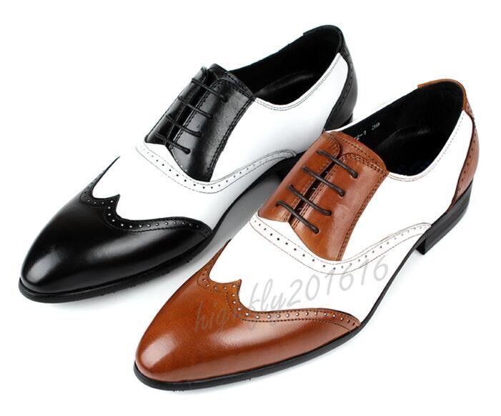 Herren Schuhe Schnürschuhe Budapester Brogue Fashion Elegant Hochzeit Gr.37-41