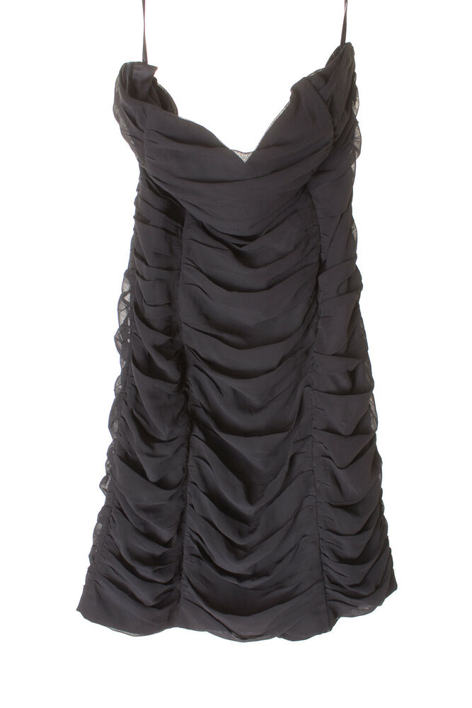 H & M Robe De Soiree Robe Dress Robe Femmes Taille Fr 40 In Noir Neuf