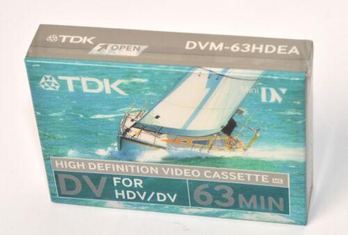 TDK MiniDV vídeo de alta definición//video digital 63 Min