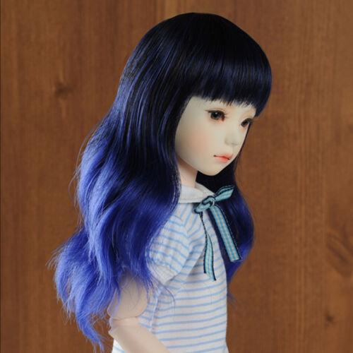 7 inch Junsa ST Wig Dollmore  1//6 BJD USD 18 cm Blue