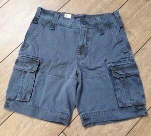 Gant Cargo Shorts Kurze Hose Size 30 21422/423 Jungen Blue W34 L44 ungefähr