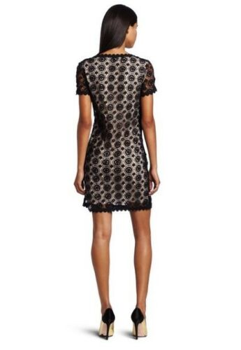 Black//Pink 2,4,6 12 NWT $288 French Connection USA Hope Lace Dress Sz 0