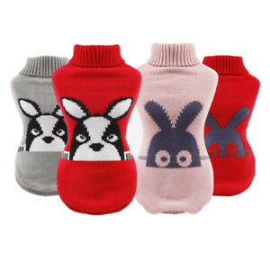 Autumn-Winter-Pet-Clothes-For-Small-Dogs-Knitted-Puppy-Cat-Dog-Jumper-Sweater