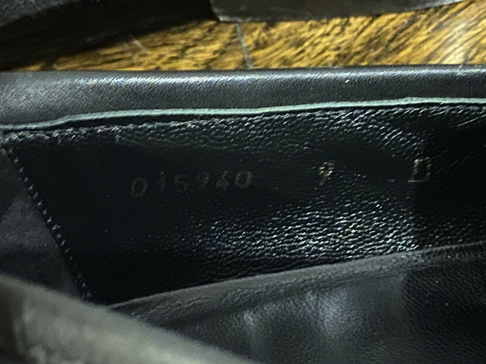 Gucci Loafers Vintage Mens Black Horsebit Classic… - image 4
