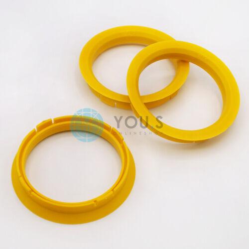 3 x ZENTRIERRINGE DISTANZRING ALUFELGEN FZ23 74,1-65,1 mm CMS DBV NEU