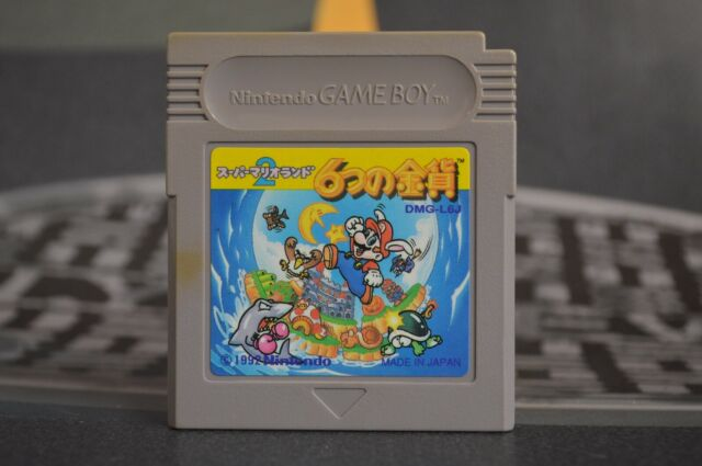 Super Mario Land 2 Game Boy Jap JP Jpn GB Gameboy