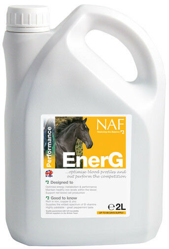 EnerG (2 Litre) iron rich, fast acting to help improve performance - NAF