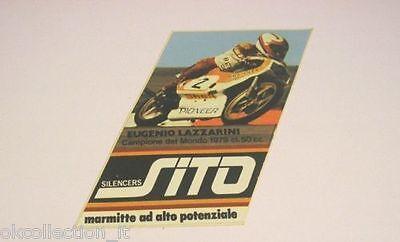 Adesivo Moto 1979 / Old Sticker / Kreidler - Eugenio Lazzarini (cm 7 X 10) Rinfrescante E Arricchente La Saliva