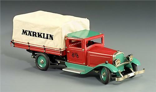 Märklin 1992 Märklin camión de reparto que Wind-up de mecanismo de relojería