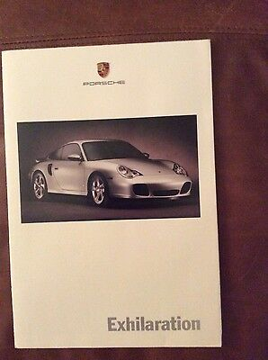 Awesome 2000 Porsche Selection Accessories Showroom Sales Brochure Spring RARE!