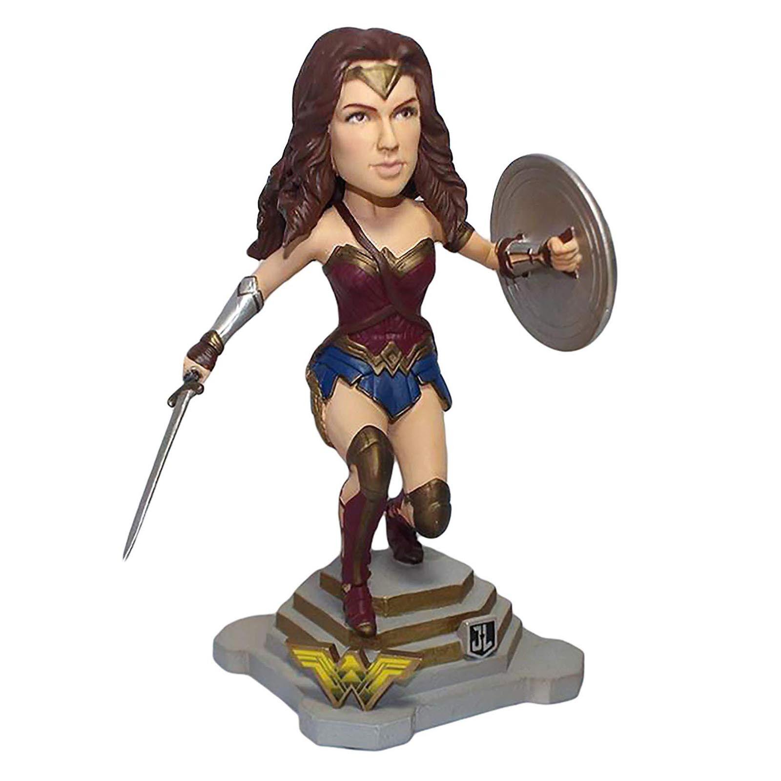 FOCO DC Justice League Wonder kvinna Bobble Head Figur NY leksaker samlaives