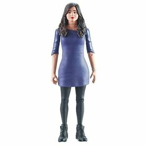 "Underground Toys Doctor Who Clara Oswald Action Figure Purple Dress 5.5"""