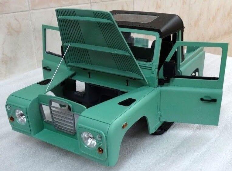 275 mm  1   10 land rover serie 3     hard plastic unlackiert karosserie - kit