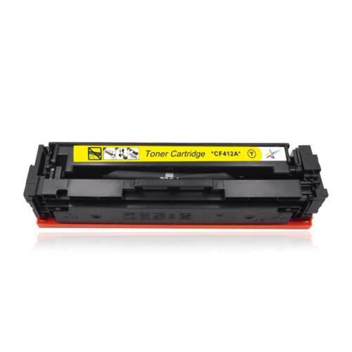 4 Pack Toner Black Color CF410A 477A Set For HP Laserjet Pro M452nw M477fdw MFP