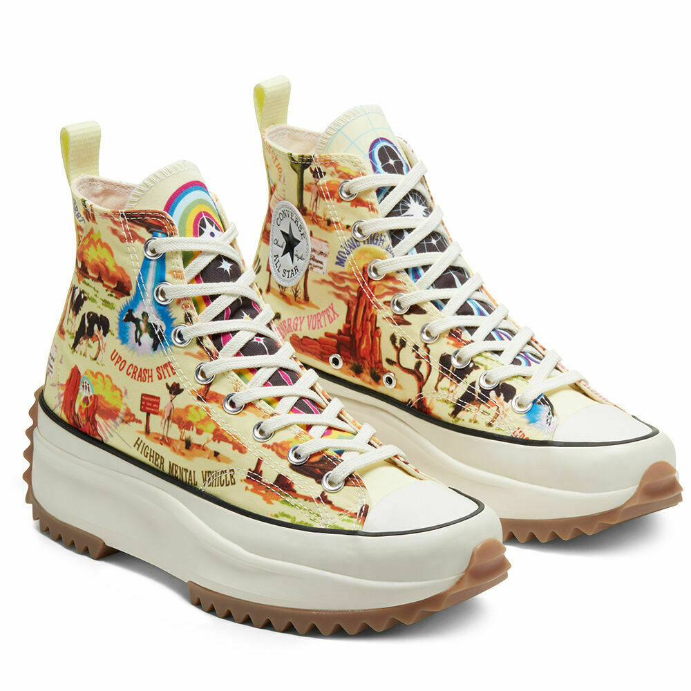 New Converse Run Star Hike Boot High Top Twisted Resort UFO Shoes Trainers