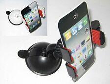 Soporte universal teléfono móvil para coche con ventosa blanco o negro Valmoni