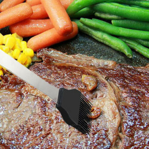20pcs BBQ Tools Set Barbecue Stainless Steel Tongs Fork Brush Cutlery Tool //Case
