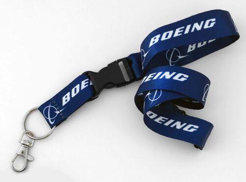 Boeing Logo Dye Sublimation Lanyard
