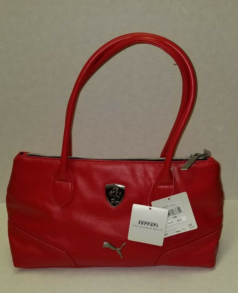 dd3ada28c3 PUMA Ferrari LS Shoulder Hand Bag Roco in Red Al/6491 for sale ...