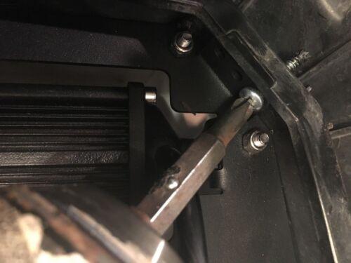 POLARIS RZR 1000 XP RZR 900 turbo METAL GRILL DUAL ROW LED CREE LIGHT BAR COMBO