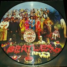 BEATLES SGT PEPPERS LONELY HEARTS CLUB BAND 180G PICTURE DISC VINYL LP IMPORT