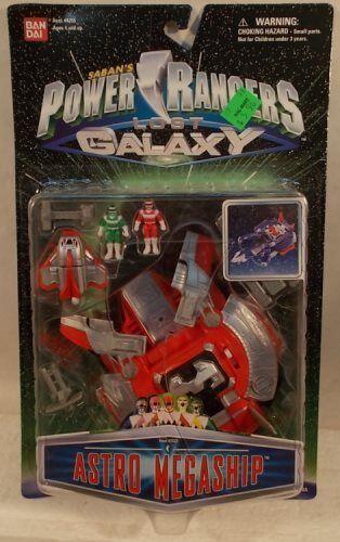 Power Rangers Lost Galaxy Astro Megaship Micro Playset With Figures Bandai  MOC
