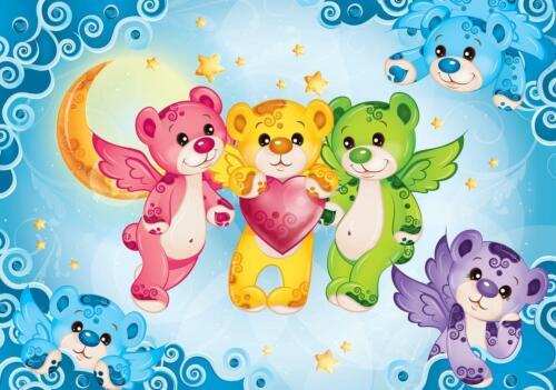 Papier peint papier peint affiches 066156fw chambre enfant ours pour enfants chambre enfant