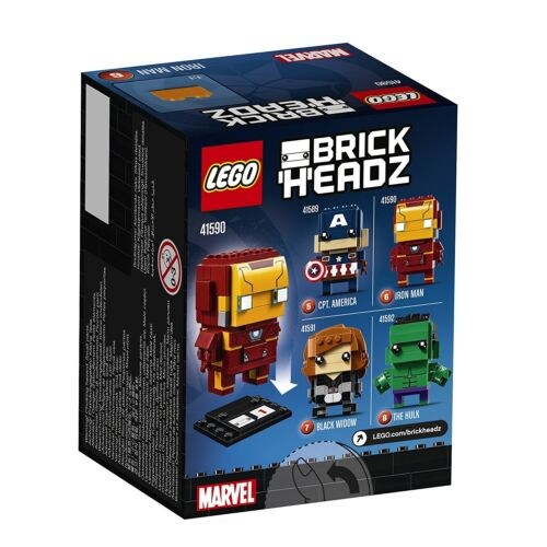 LEGO Brickheadz 41590 The Iron Man Figur Marvel Comics Brick Headz #06