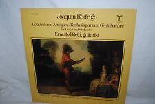 Joaquin Rodrigo, Concierto de Aranjuez, LP record, Ernesto Bitetti guitar CANADA