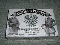Armies In Plastic 1/32 54mm Franco Prussian War Prussian Reuss 96th Infantry