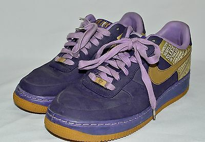 99268285263 Details about Nike Air Force AFI 82 Purple Suede Statement Shoe Size 8-1/2  8.5