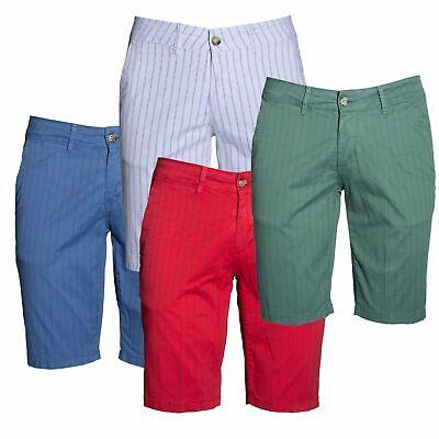 Pantaloncini Bermuda Uomo Slim Cotone Pantaloni Corti Shorts Casual Jeans Esprez