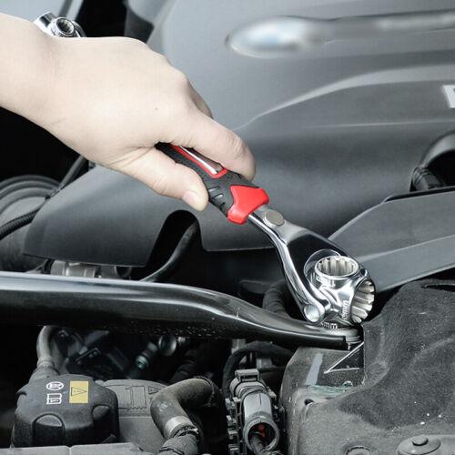 8in1 Universal Wrench Torque Socket 360° Spanner Hand Tool Spline Bolt Multitool