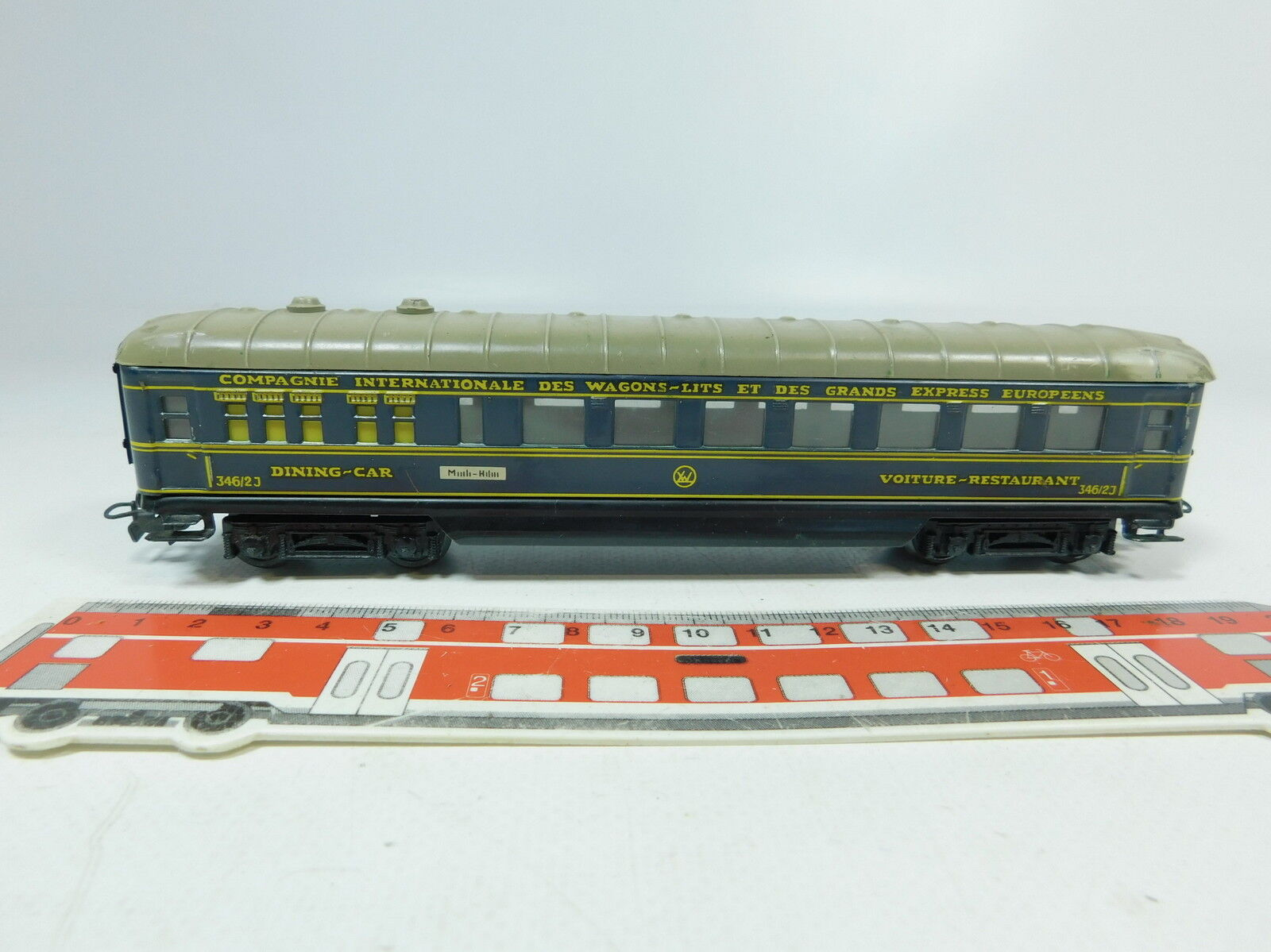 AK61-0,5     H0 /00/ Ac Schürzenwagen/Vagone Ristorante 346/2J  4009