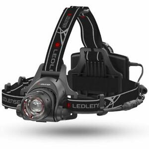 LED-Lenser-h14r-2-wiederaufladbare-AA-Akku-Head-Torch-Brandneu-Box